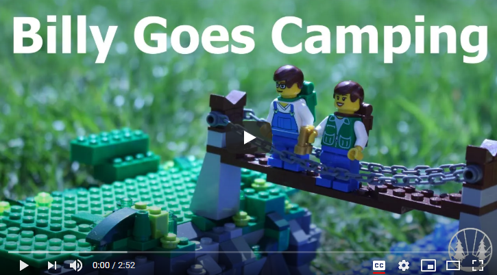 Lego Scene - Billy goes camping